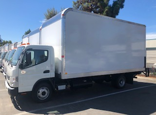 2017 Mitsubishi Fuso Box Truck for Sale or Lease San Jose CA