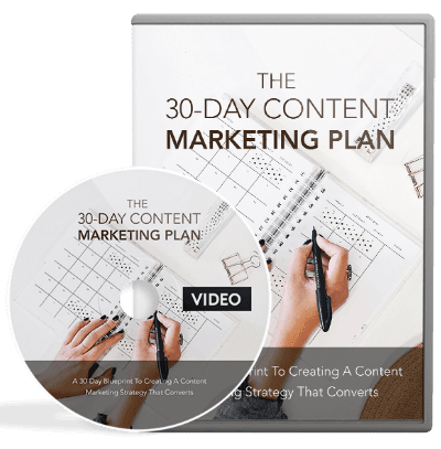 30-Day Content Marketing Plan