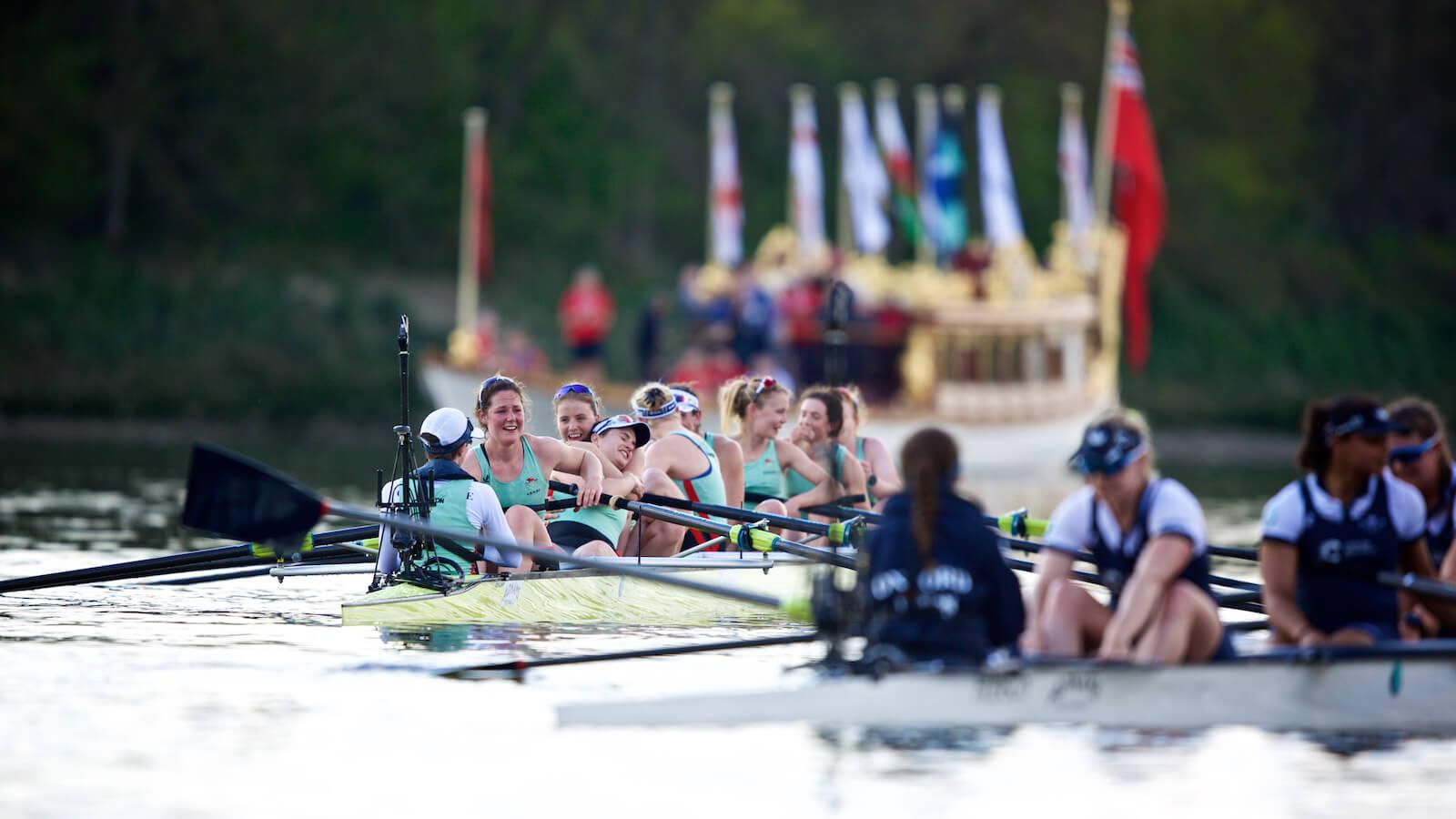 boat race - oxford and cambridge university - boat race between oxford and cambridge university