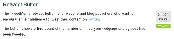 Tweetmeme button - Twitter marketing 2019