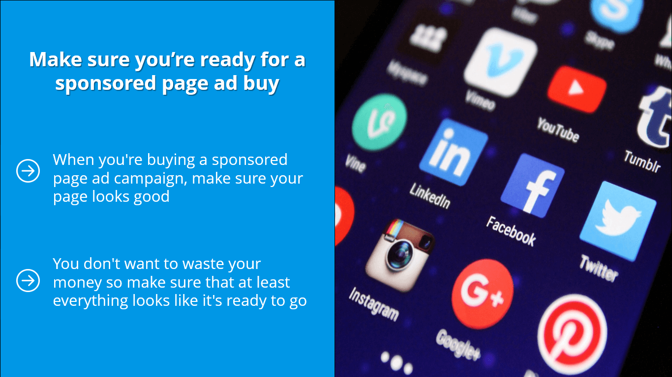 Paid Page Boost Campaign