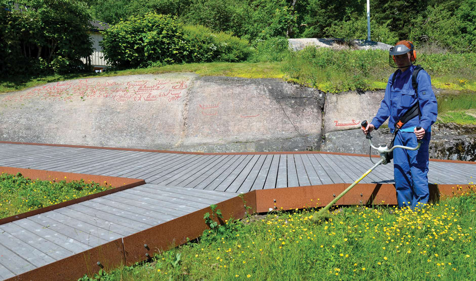 Skjøtsel av det tilrettelagte området var en viktig forutsetning for at Solbergfeltet.