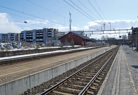 Ullensaker kommune Jernbane