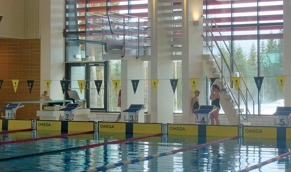 Brukervennlig badeanlegg med ny svømmehall på Raufoss