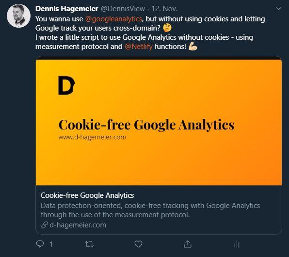 Großes Twitter-Vorschaubild