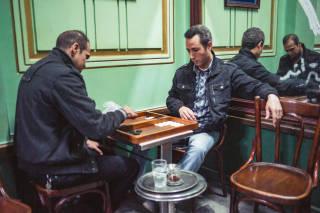 Backgammon players, Cairo