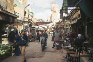 Market scene, Cairo