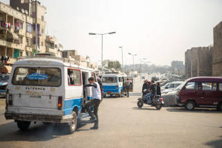 Street scene, Cairo