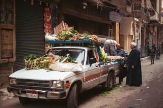Vegetable seller, Cairo