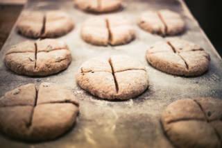 Bannock dough