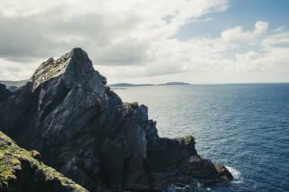 North-west coastal view