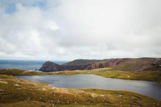 Loch near Lang Clodie Wick