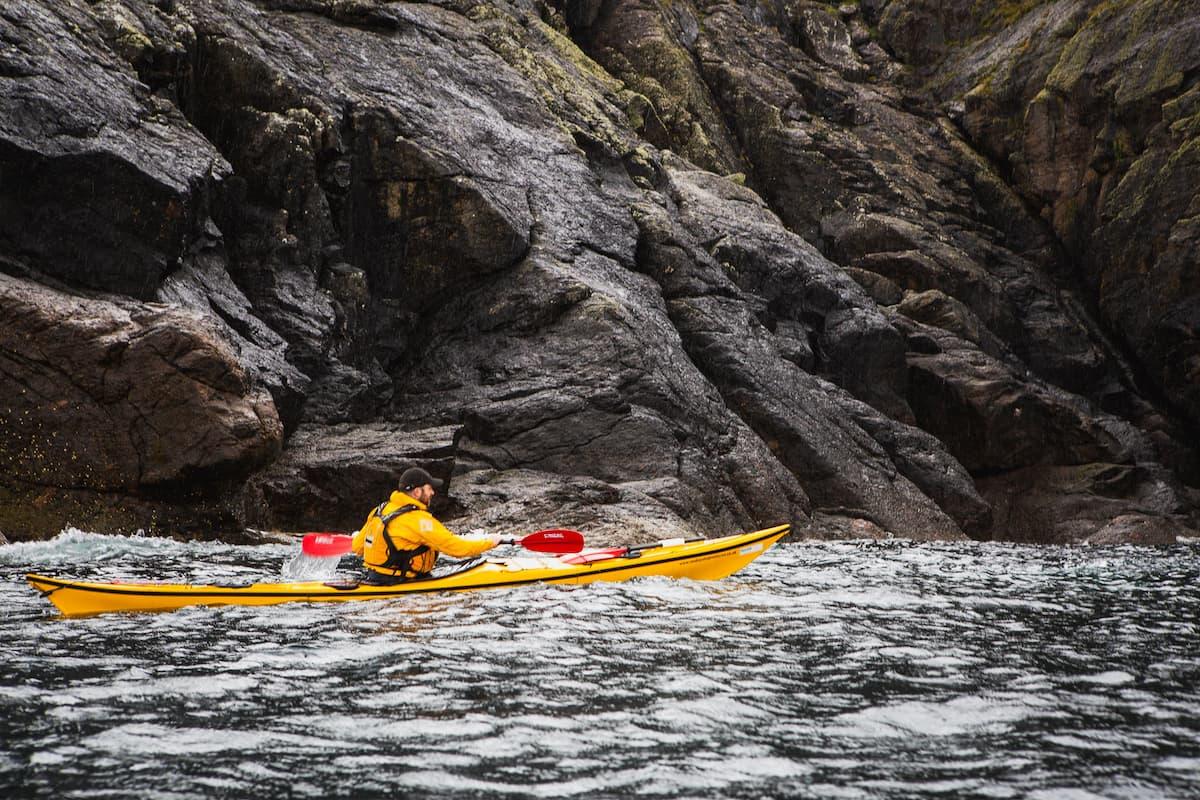 Kayaking Quarff to Fladdabister - July 04, 2020