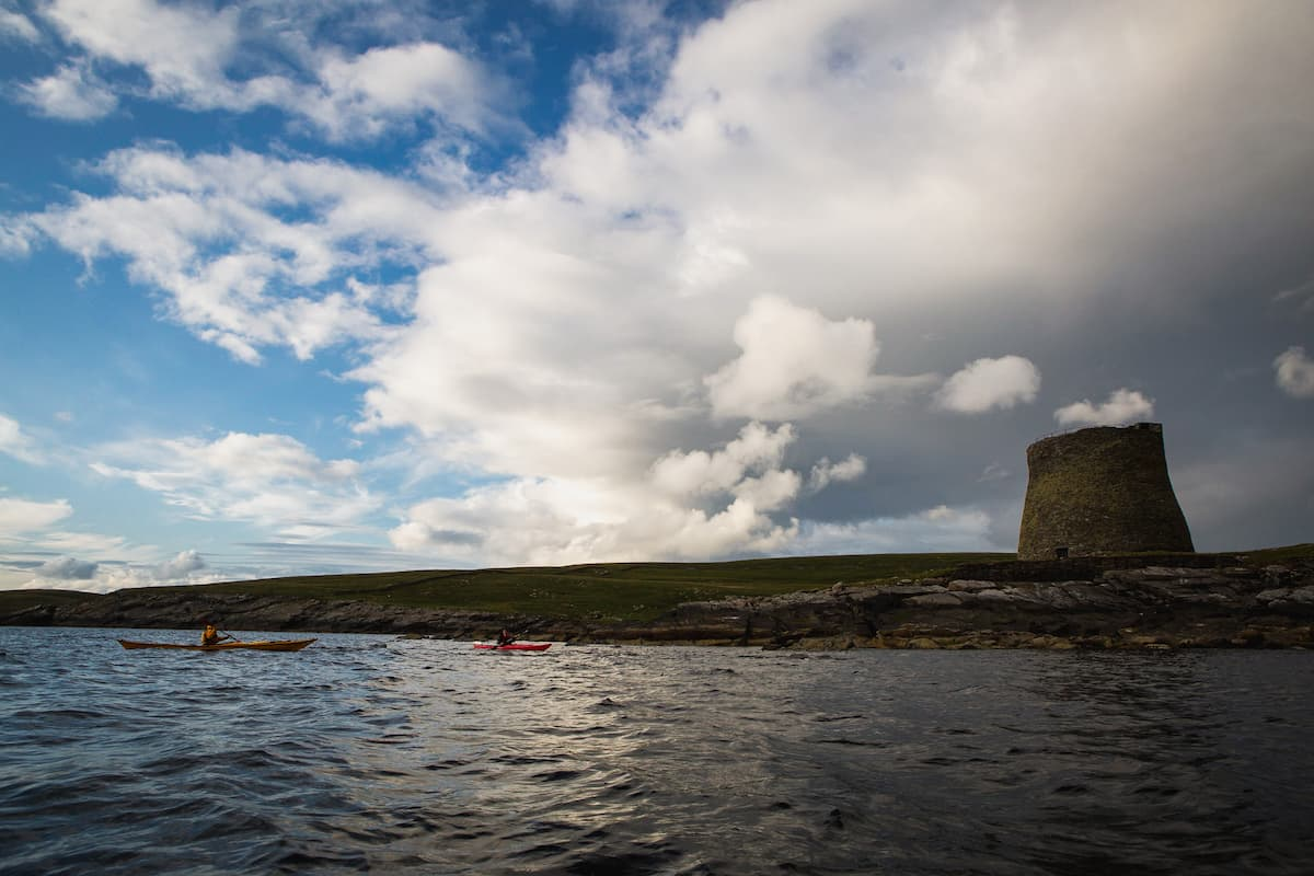 Kayaking to Mousa, Shetland  - July 09, 2020