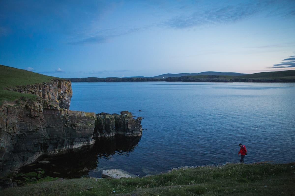 Walking on Mousa, Shetland - July 10, 2020