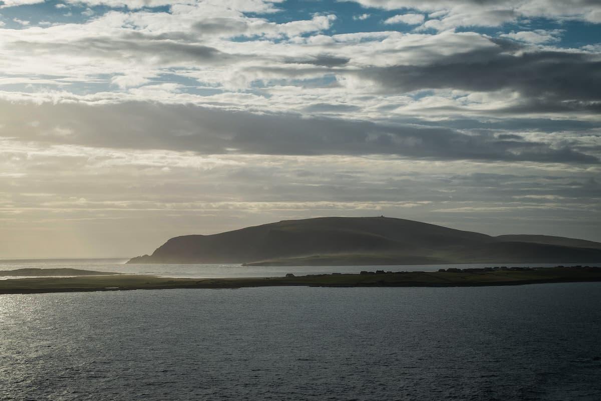 View of Fitful Head, Shetland - July 14, 2020
