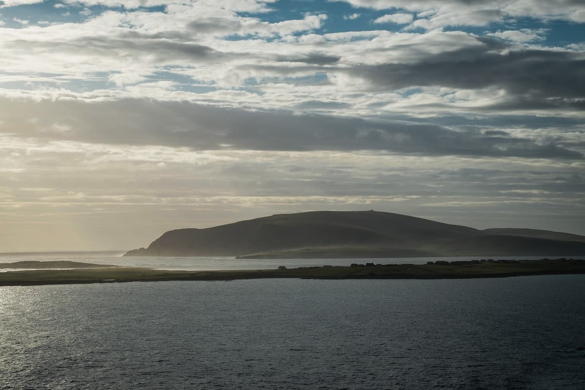 View of Fitful Head, Shetland - July 14, 2020