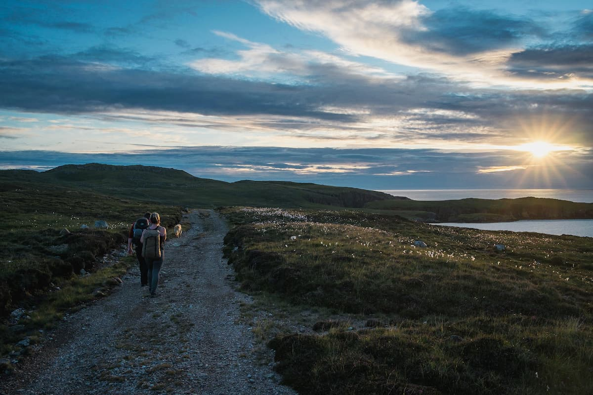 Walking to the Hams, Shetland - July 24, 2020