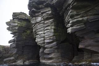 Cliffs at Boddam