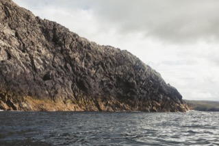 Cliff views, NW Fethaland
