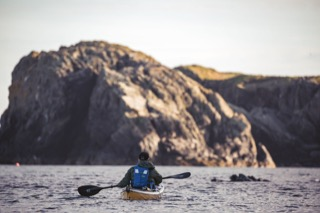 Kayaker, Gletness