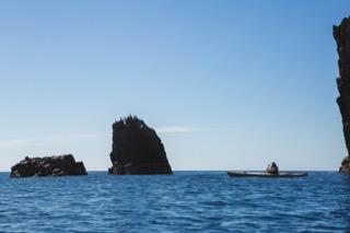 Bay on the south coast of Papa Stour