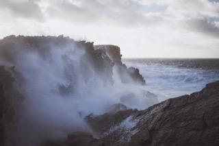 Cliffs, Ness of Burgi