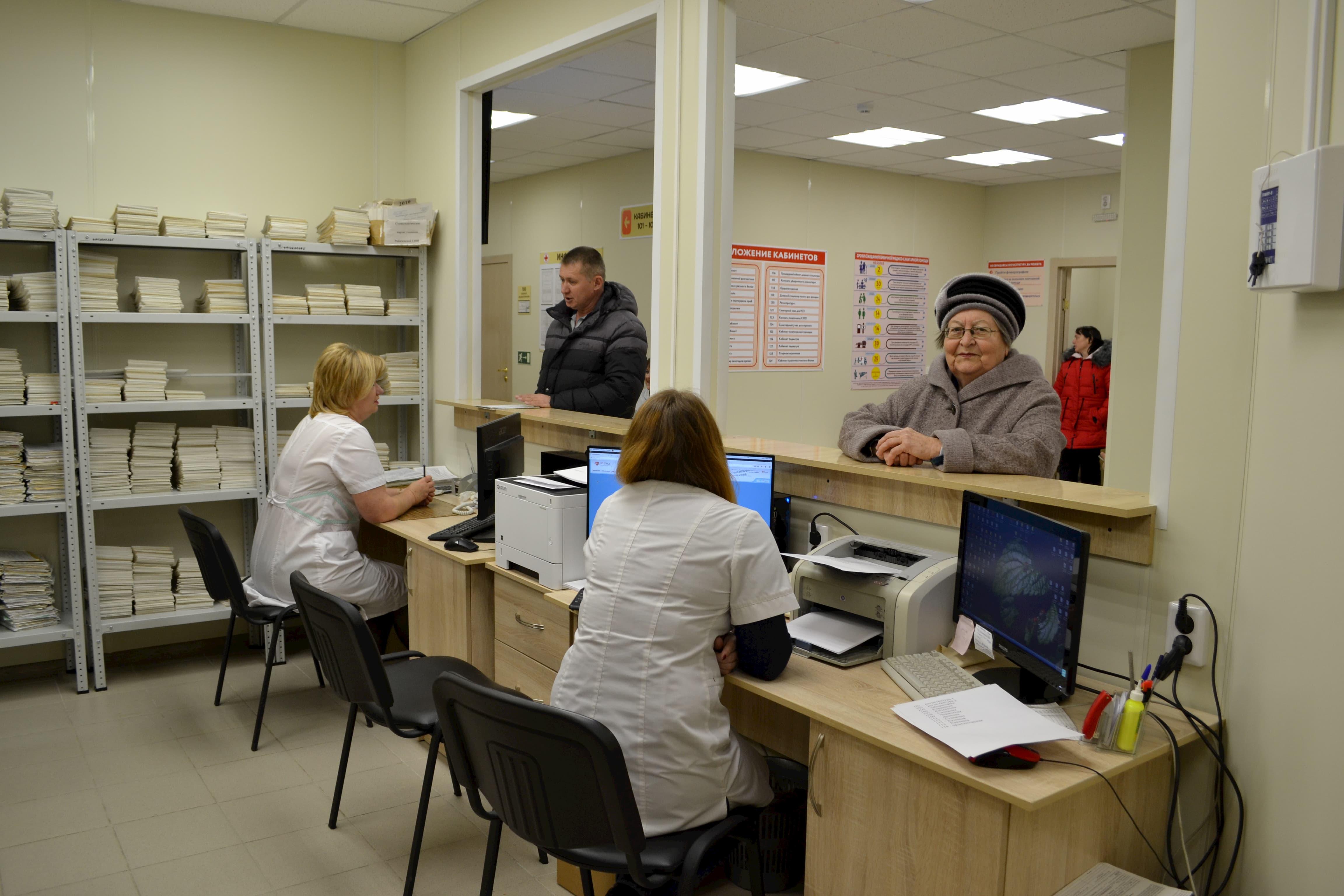 Торжественное открытие врачебной амбулатории в хуторе Рябичев Волгодонского района