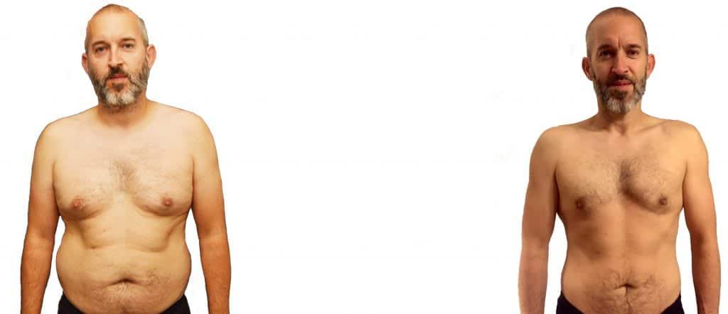 jonny fat loss body transformation
