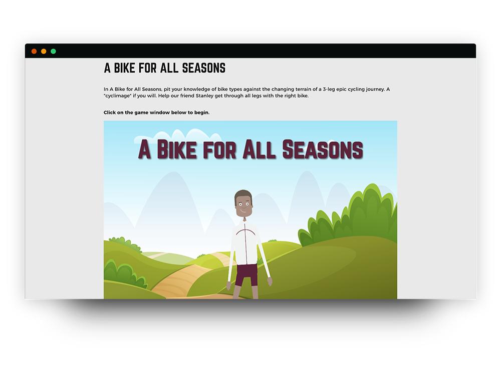 Bike game
