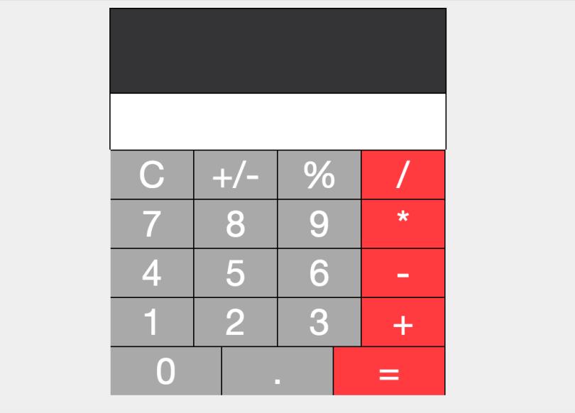 calculator prototype