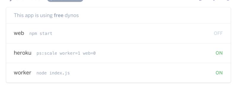 Twitter bot screenshot