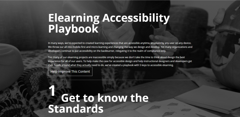 elearning accessibility playbook