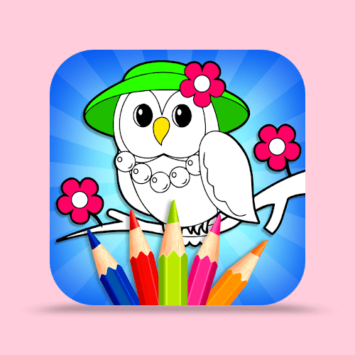 Coloring Book & Drawing Book - Kids Game