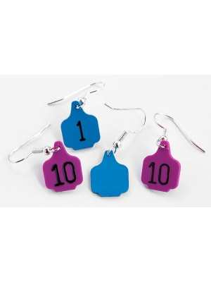 Ear Tag Earrings