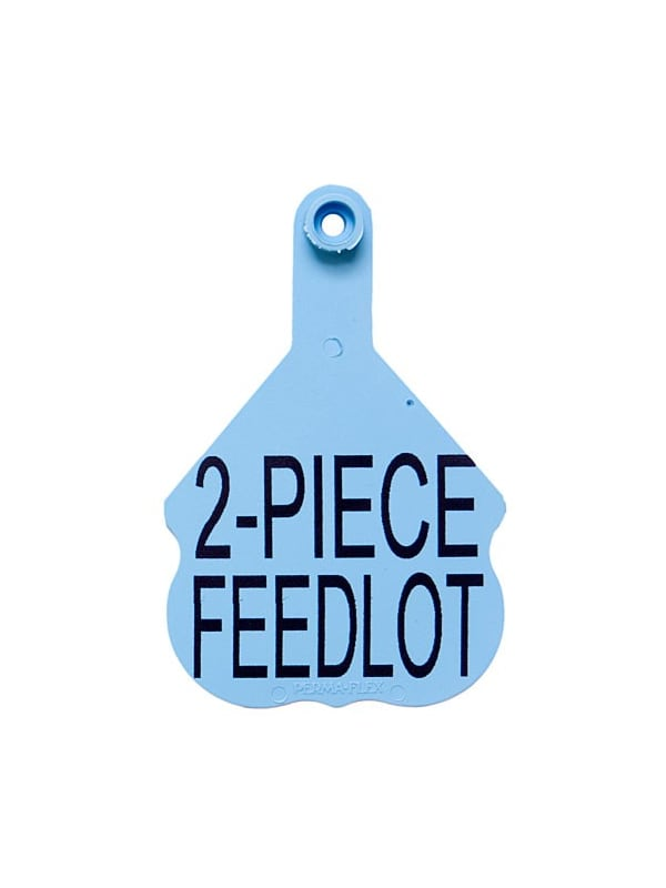 Perma-Flex 2-Piece Feedlot Ear Tag - Custom