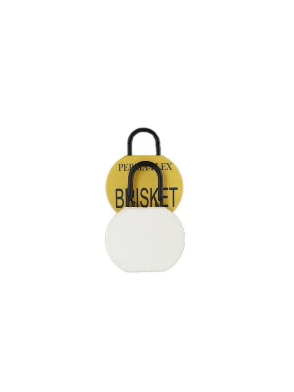 Perma-Flex Brisket Tag w/ Locking Loop - Blank Examples