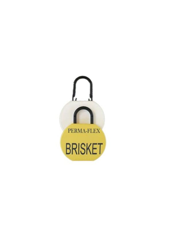 Perma-Flex Brisket Tag w/ Locking Loop - Custom Examples