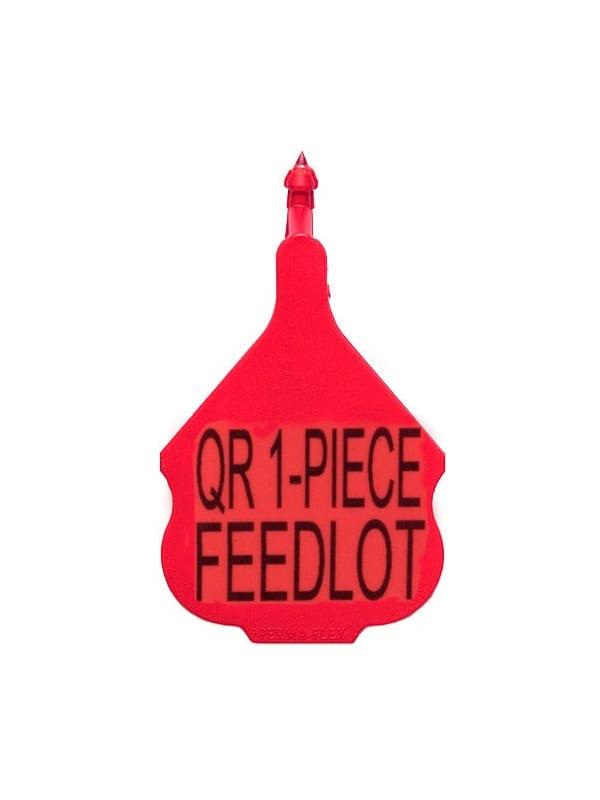 Perma-Flex Quick Release 1-Piece Feedlot Ear Tag - Custom