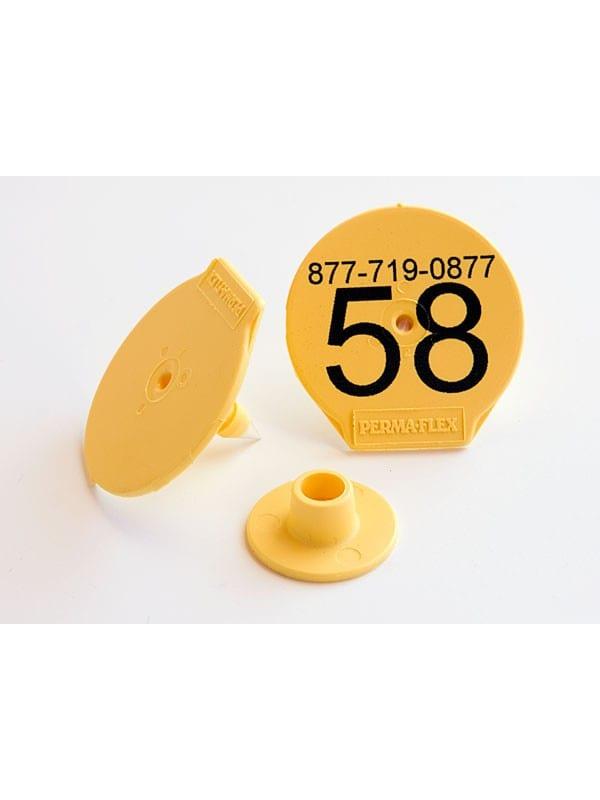 Perma-Flex Standard Hog Ear Tag - Custom