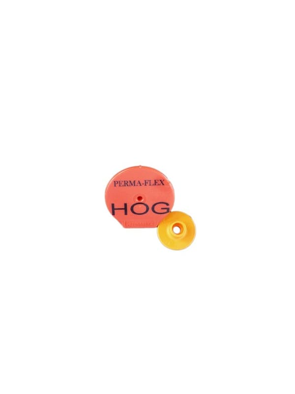 Perma-Flex Standard Hog Ear Tag - Custom Example