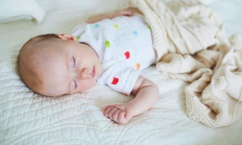 Stil! Baby slaapt…