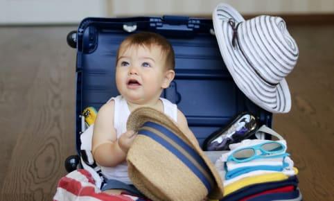 Op vakantie met een baby