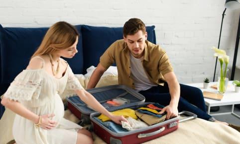 La valise de maman pour la maternité