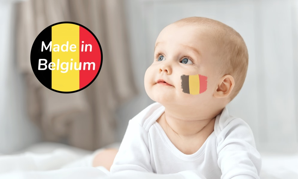 5 Belgische kinderverzorgingsmerken om te ontdekken