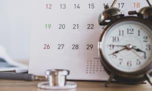 Calendrier des visites médicales