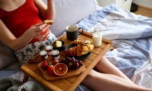 Le petit déjeuner pendant la grossesse