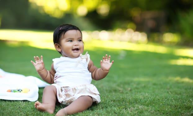 De ontwikkeling van je baby: je baby is 9 maanden oud