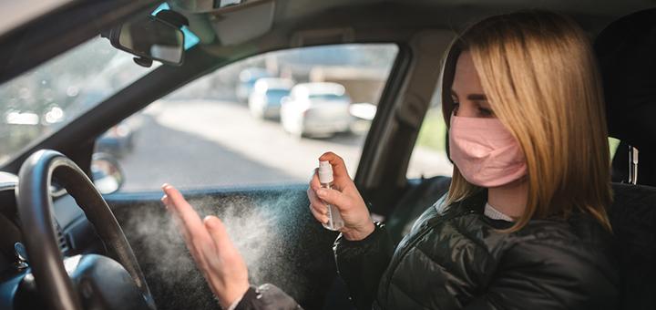 como limpiar y desinfectar mi auto del coronavirus
