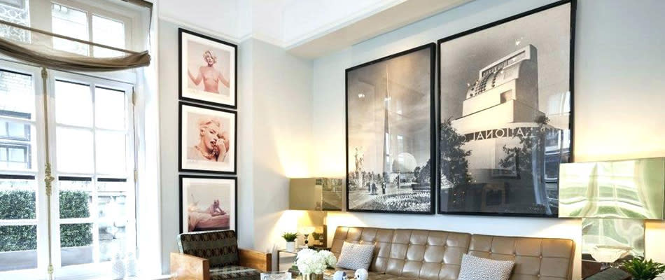 Hanging mirrors paintings pictures